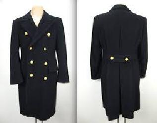 bridge coat cashmere wool soft satin officer long trench dress formal navy blue nordstom macys nieman marcus exquiste high quality