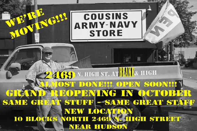Army Navy Surplus Columbus Ohio